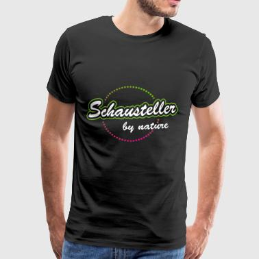 Schausteller by nature - Männer Premium T-Shirt