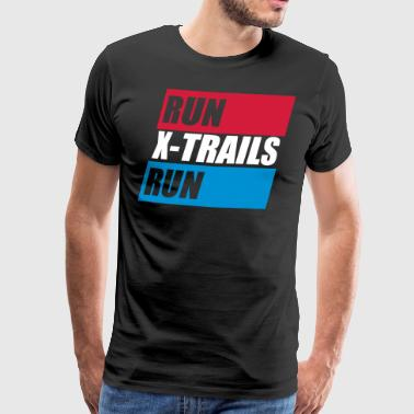 X-Trails. Run-X-Trails-Run. Est. 2017 - Mannen Premium T-shirt