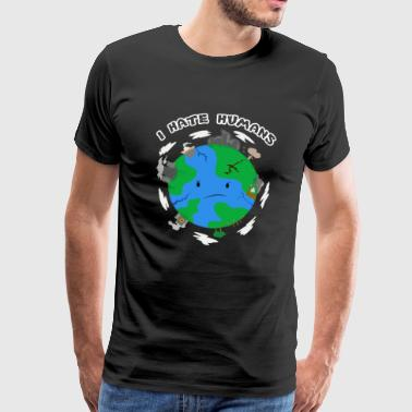 Earth Environment - Premium-T-shirt herr