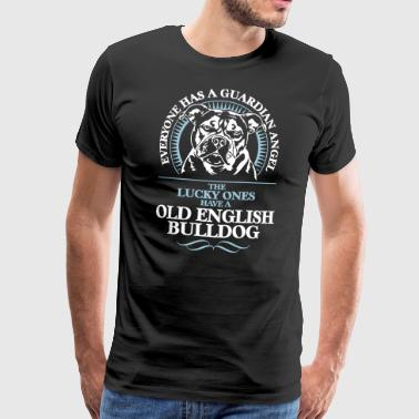 GUARDIAN ANGEL OLD ENGLISH BULLODG OEB - Männer Premium T-Shirt