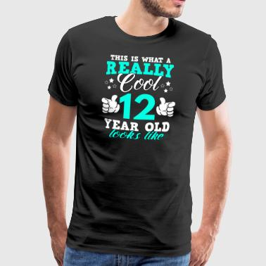 This is what a really cool 12 year old looks like - Men's Premium T-Shirt
