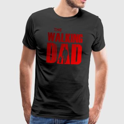 The Walking pappa - Red Edition - Premium-T-shirt herr