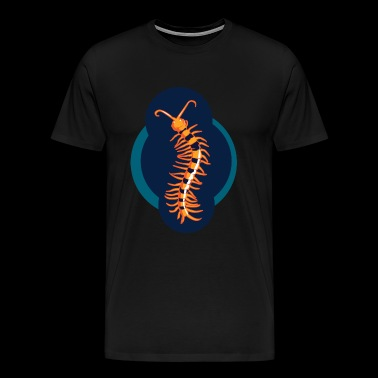 giftig scolopender kruipend insect - Mannen Premium T-shirt