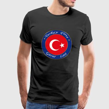 Turkey FIRST - Men's Premium T-Shirt