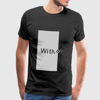 without2 - Herre premium T-shirt