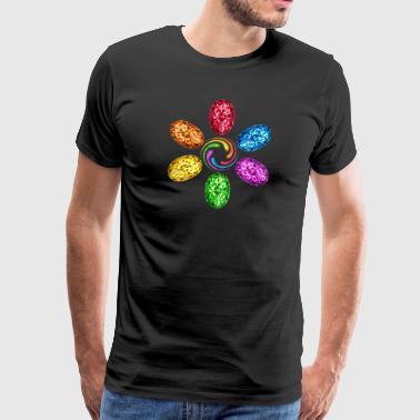 Infinity Infinity Chakra Stones Spiral Magic - Men's Premium T-Shirt
