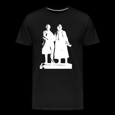 Goethe and Schiller - Men's Premium T-Shirt
