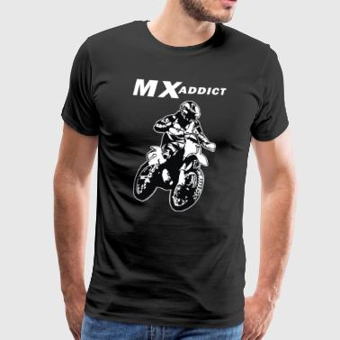 mx addict - Men's Premium T-Shirt