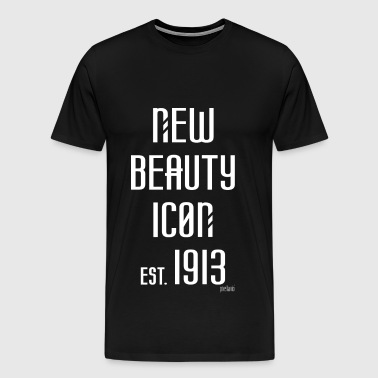 New beauty Icon est. 1913, Pixellamb ™ - Männer Premium T-Shirt