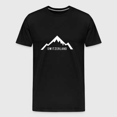 Switzerland Alps - T-shirt Premium Homme