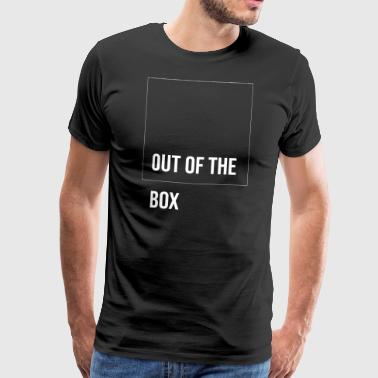 Out of the box! Cool gift for other thinkers - Men's Premium T-Shirt