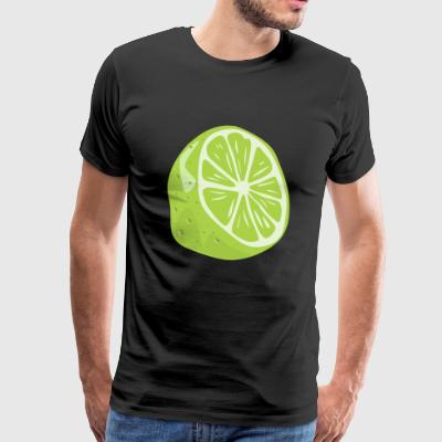 LIME ARE THE BEST - Men's Premium T-Shirt