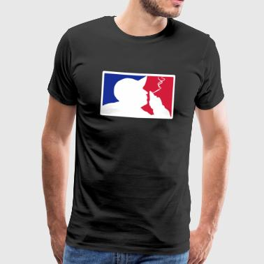 Major League Blazin ' - Premium T-skjorte for menn