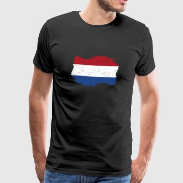 Roots roots flag homeland country holland png - Men's Premium T-Shirt