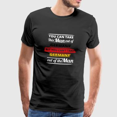 Gift from dear man home GERMANY - Men's Premium T-Shirt