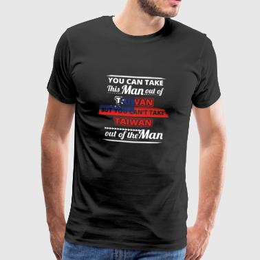 Gift from love man's hometown TAIWAN - Men's Premium T-Shirt