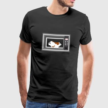 The hamster in the microwave - Men's Premium T-Shirt