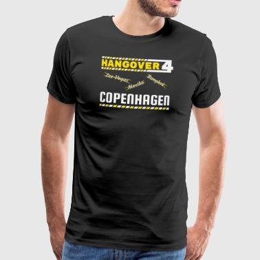 Hangover Party Copenhagen Denmark Travel - Men's Premium T-Shirt