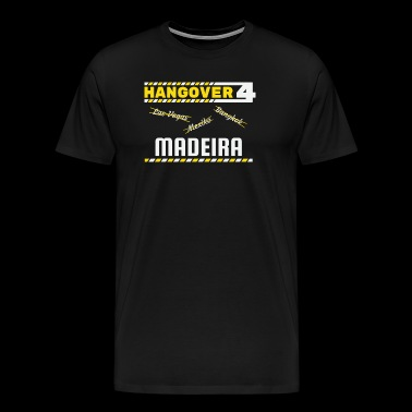 Hangover Party Madeira Portugal Travel - Men's Premium T-Shirt