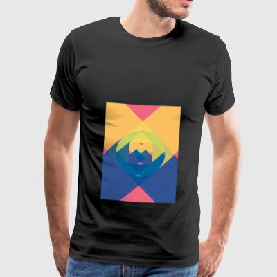 square and shadow - Men's Premium T-Shirt