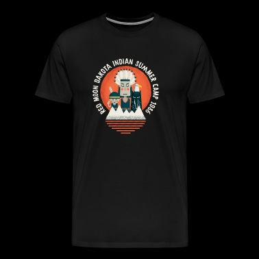 indian summer camp - Mannen Premium T-shirt