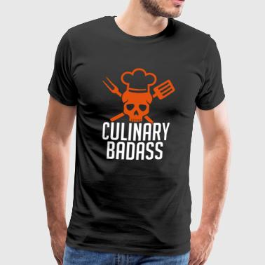 Chef Culinary Badass Chef Humor - Men's Premium T-Shirt