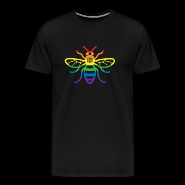 Gay Pride Bee - Men's Premium T-Shirt