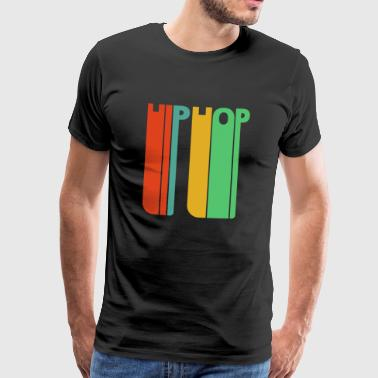 Vintage Retro Hip Hop Gifts. Dancing. - Men's Premium T-Shirt