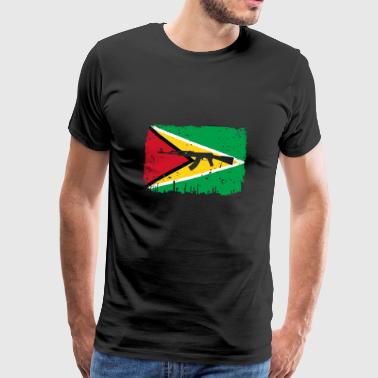homeland fight ak 47 homeland roots Guyana png - Men's Premium T-Shirt
