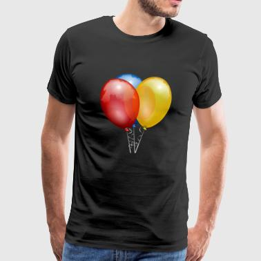 balloons - Men's Premium T-Shirt