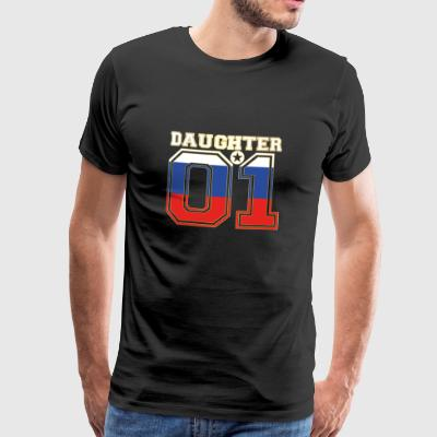 Daughter 01 daughter queen Russia - Men's Premium T-Shirt