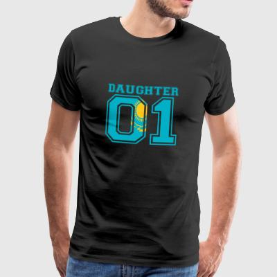 Daughter daughter queen 01 Kazakhstan - Men's Premium T-Shirt