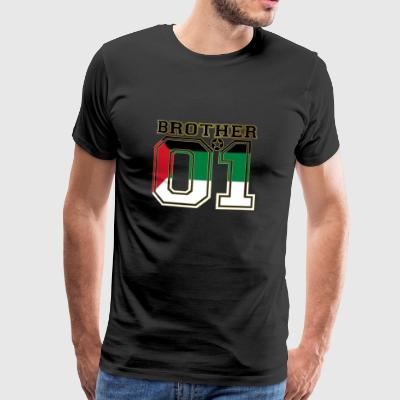 king bruder brother 01 partner palestine palaestin - Männer Premium T-Shirt