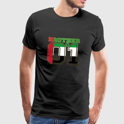 king bruder brother 01 partner Vereinigte Arabisch - Männer Premium T-Shirt