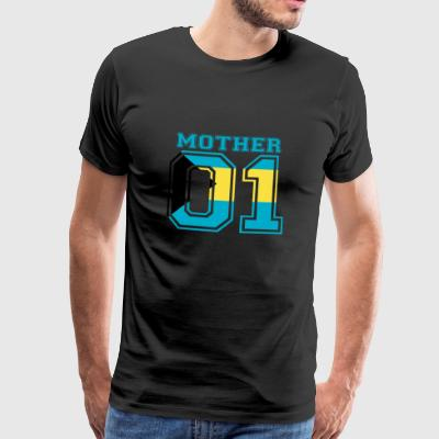 MUTTER MAMA 01 MOTHER QUEEN Bahamas - Männer Premium T-Shirt
