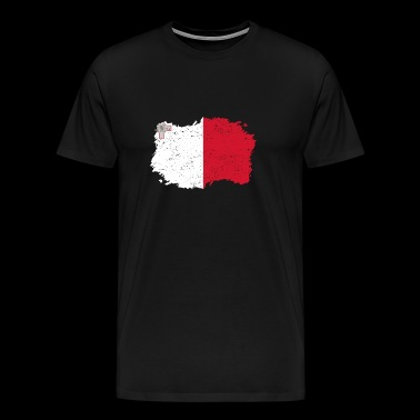 Roots Roots Flag Homeland Country Malta png - Men's Premium T-Shirt