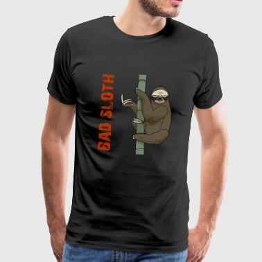 Bad Sloth - Mannen Premium T-shirt