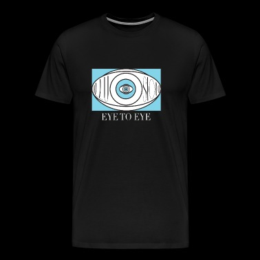 EYE TO EYE - Men's Premium T-Shirt