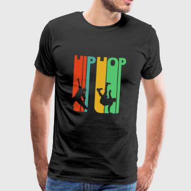 Vintage Retro Style 70's Hip Hop Gifts. Dancing - Men's Premium T-Shirt