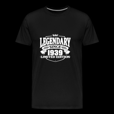 Legendarisk sedan 1939 - Premium-T-shirt herr