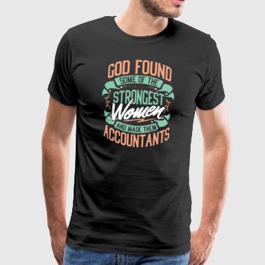 Accountant tax accountant profession gift - Men's Premium T-Shirt