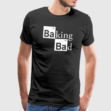 baking Bad - Premium T-skjorte for menn