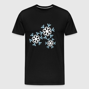 winter - Premium T-skjorte for menn