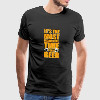 Beer time Wonderful gift - Men's Premium T-Shirt