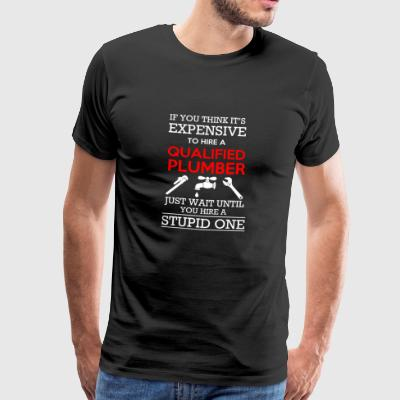 Qualified Plumber - Männer Premium T-Shirt