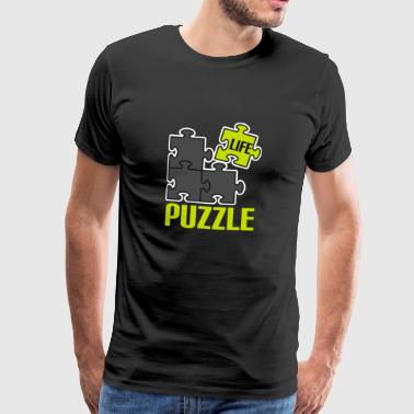 Play puzzle game puzzle mind mind new n - Men's Premium T-Shirt