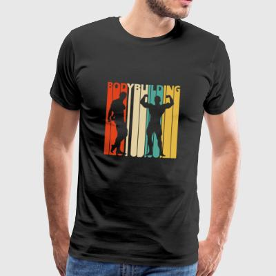Vintage Retro Bodybuilding. Gifts for Bodybuilders - Men's Premium T-Shirt