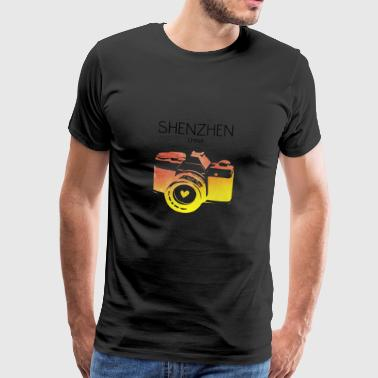 China, Shenzhen - Mannen Premium T-shirt
