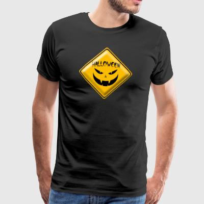signe Halloween 001 dessins ronds - T-shirt Premium Homme