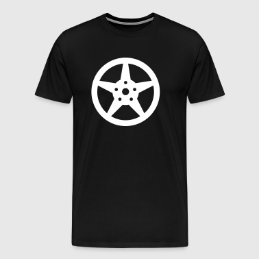 Rim car tires - Men's Premium T-Shirt